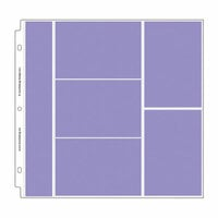 Doodlebug Design - 12 x 12 Storybook Album Protectors - Combo Photo - 12 Pack