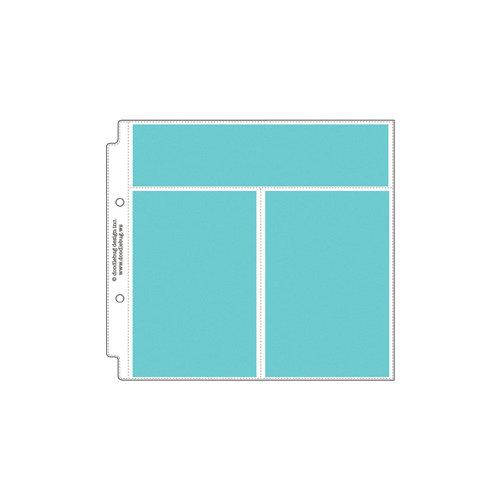 Doodlebug Design - 8 x 8 Storybook Album Protectors - Vertical Photo and Recipe Card - 12 Pack