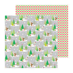 Doodlebug Design - North Pole Collection - Christmas - 12 x 12 Double Sided Paper - North Pole