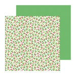Doodlebug Design - North Pole Collection - Christmas - 12 x 12 Double Sided Paper - Holly-Days