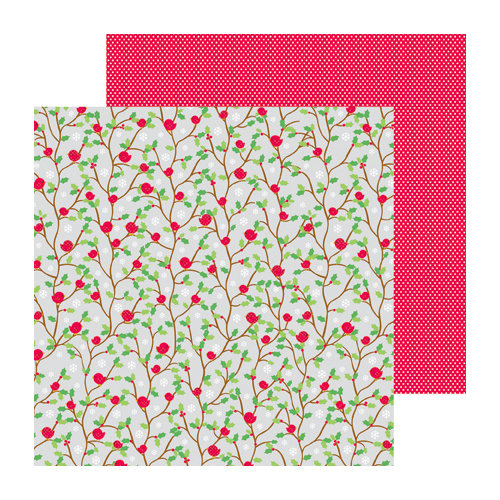 Doodlebug Design - North Pole Collection - Christmas - 12 x 12 Double Sided Paper - Sweet Tweets