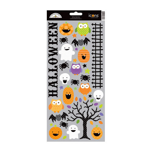 Doodlebug Design - Haunted Manor Collection - Halloween - Cardstock Stickers