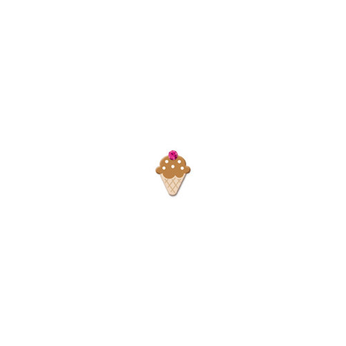 Doodlebug Design - Oodles - Braddies - Sugar Cones - Chocolate