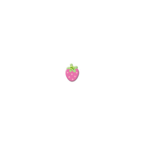 Doodlebug Design - Oodles - Braddies - Strawberries - Pink