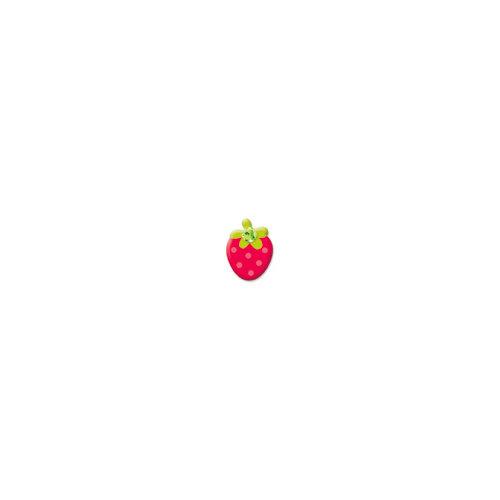 Doodlebug Design - Oodles - Braddies - Strawberries - Red
