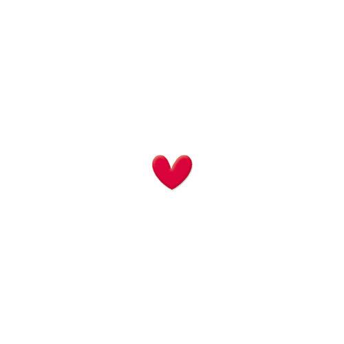 Doodlebug Design - Oodles - Braddies - Flocked Hearts - Cinnamon