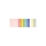 Doodlebug Design - 8.5 x 11 Texture Cardstock Assortment - Pastel