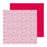 Doodlebug Design - Lovebirds Collection - 12 x 12 Double Sided paper - He Loves Me