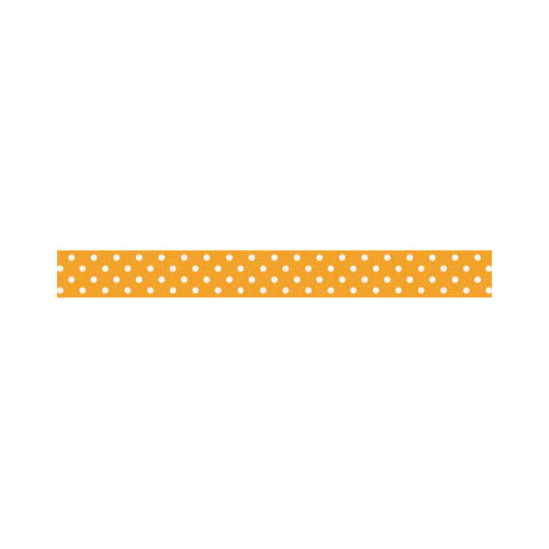 Doodlebug Design - Washi Tape - Tangerine Swiss Dot
