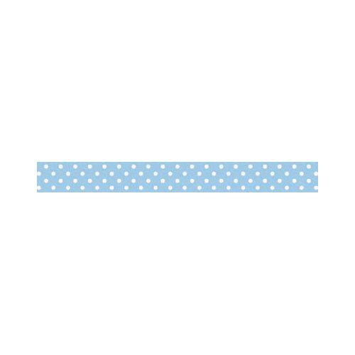 Doodlebug Design - Washi Tape - Bubble Blue Swiss Dot