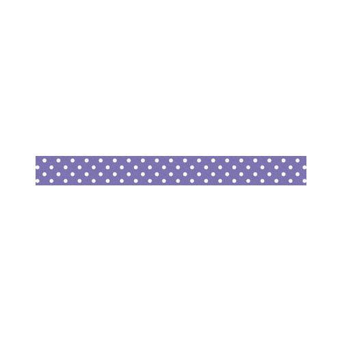 Doodlebug Design - Washi Tape - Lilac Swiss Dot