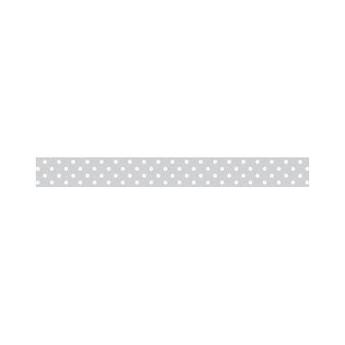 Doodlebug Design - Washi Tape - Grey Swiss Dot