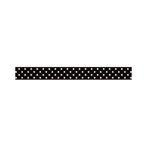 Washi Tape- Beetle Black White Dot