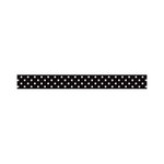 Doodlebug Design - Washi Tape - Beetle Black Swiss Dot