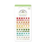 Doodlebug Design - Flower Box Collection - Adhesive Pearls - Mini