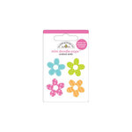 Doodlebug Design - Fruit Stand Collection - Doodle-Pops - 3 Dimensional Cardstock Stickers - Mini - Bitty Blossoms