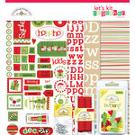 Doodlebug Design - Let's Kit Together - Christmas, CLEARANCE