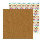 Doodlebug Design - Flower Box Collection - 12 x 12 Double Sided Paper - Woodsy