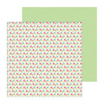Doodlebug Design - Flower Box Collection - 12 x 12 Double Sided Paper - Tiny Tulips