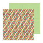 Doodlebug Design - Flower Box Collection - 12 x 12 Double Sided Paper - Woodland Floral