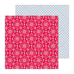 Doodlebug Design - Stars and Stripes Collection - 12 x 12 Double Sided Paper - Bandana