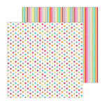 Doodlebug Design - Take Note Collection - 12 x 12 Double Sided Paper - Footnote