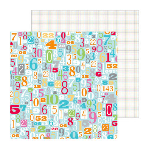 Doodlebug Design - Take Note Collection - 12 x 12 Double Sided Paper - Totally
