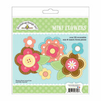 Doodlebug Design - Flower Box Collection - Mini Flowers Craft Kit