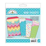 Doodlebug Design - Take Note Collection - Mini Pockets Craft Kits