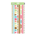 Doodlebug Design - Flower Box Collection - Cardstock Stickers - Fancy Frill