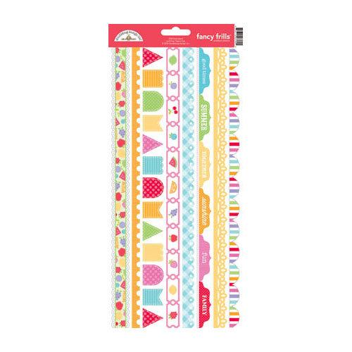 Doodlebug Design - Fruit Stand Collection - Cardstock Stickers - Fancy Frills