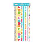 Doodlebug Design - Take Note Collection - Cardstock Stickers - Fancy Frills