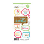 Doodlebug Design - Flower Box Collection - Cardstock Stickers - Quotes
