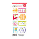 Doodlebug Design - Fruit Stand Collection - Cardstock Stickers - Seals