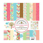 Doodlebug Design - Flower Box Collection - 12 x 12 Paper Pack