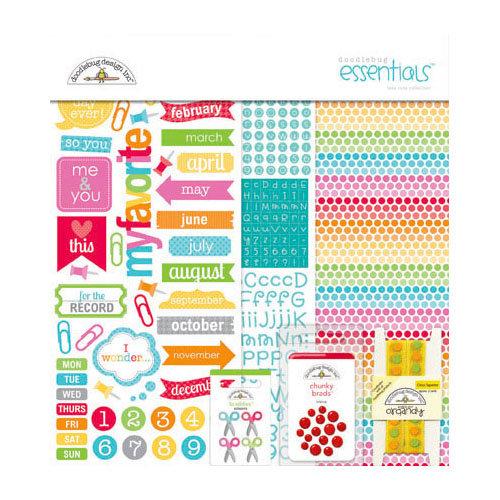 Doodlebug Design - Take Note Collection - Essentials Kit