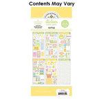 Doodlebug Design - Cardstock and Chipboard Stickers - Assortment Pack - Spring