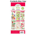 Doodlebug Design - Cardstock and Chipboard Stickers - Assortment Pack - Christmas