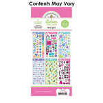 Doodlebug Design - Cardstock and Chipboard Stickers - Assortment Pack - Teen Girl