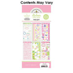 Doodlebug Design - Cardstock and Chipboard Stickers - Assortment Pack - Baby Girl