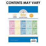 Doodlebug Design - Alphabet Cardstock Stickers - Just Plain Simple Value Pack