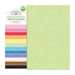 Doodlebug Design - Sugar Coated - 12 x 12 Glittered Cardstock Assortment - Daydream