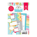 Doodlebug Design - Take Note Collection - 4 x 6 Album Inserts