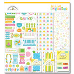 Doodlebug Designs - Let's Kit Together - Summer, CLEARANCE