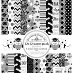 Doodlebug Design - Cap and Gown Collection - 12 x 12 Paper Pack