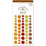 Doodlebug Design - Friendly Forest Collection - Jewels - Adhesive Rhinestones - Fall