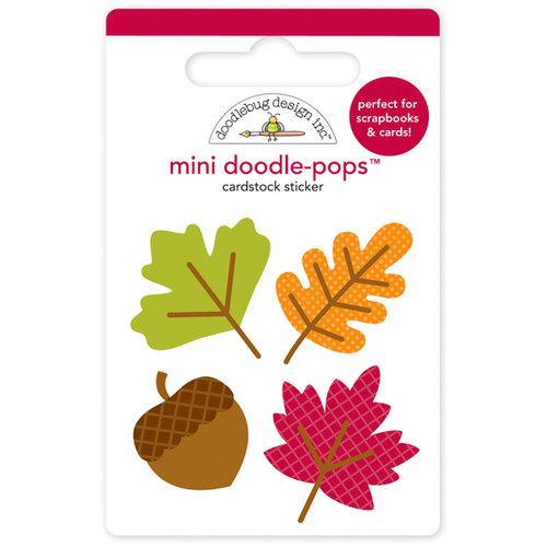 e72e934e46f Doodlebug Design - Happy Harvest Collection - Doodle-Pops - 3 Dimensional  Cardstock Stickers - Mini - Shades of Fall