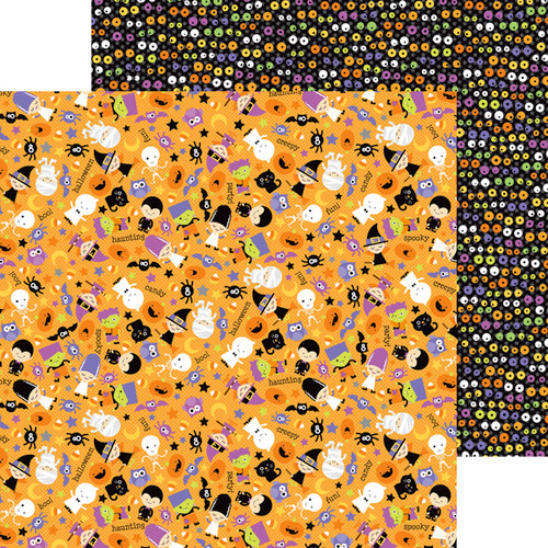 Doodlebug Design - Halloween Parade Collection - 12 x 12 Double Sided Paper - Halloween Parade