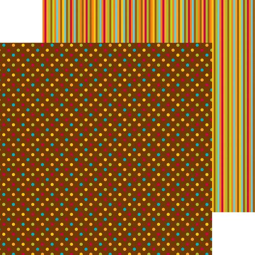 Doodlebug Design - Happy Harvest Collection - 12 x 12 Double Sided Paper - Harvest Dots
