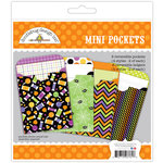 Doodlebug Design - Halloween Parade Collection - Mini Pockets Paper Craft Kit
